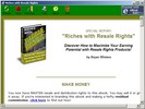 Thumbnail *NEW!* How To Get Rich With Resale Rights Products