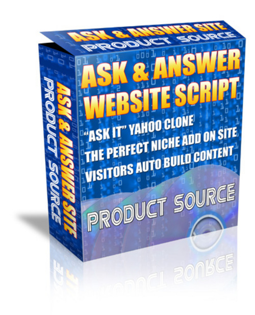 Product picture *HOT!* Ask And Answer Script