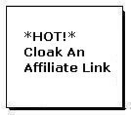 Product picture *HOT!* Cloak An Affiliate Link