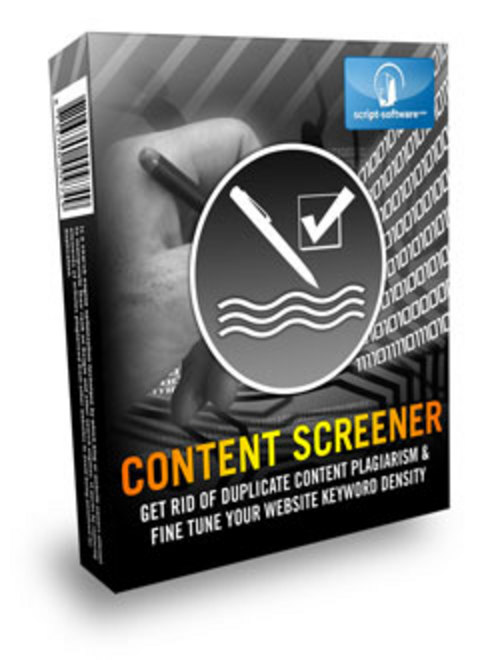 Product picture *HOT!* Content Screener