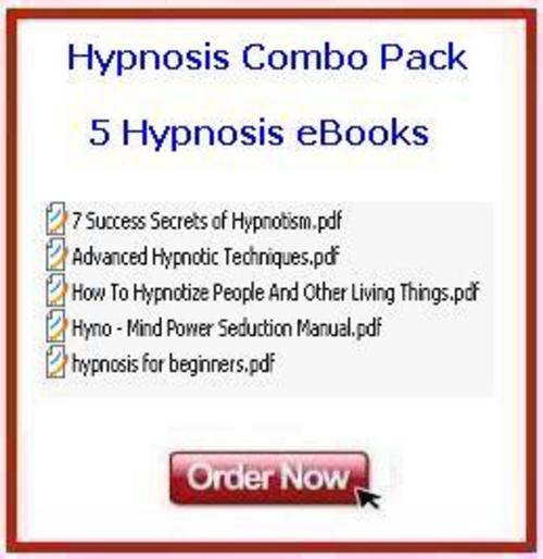 Product picture *NEW!* Hypnosis Comdo Pack 5 eBooks