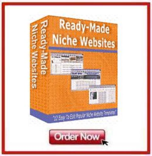 Product picture *NEW!* 12 Ready Made Niche Website Templates
